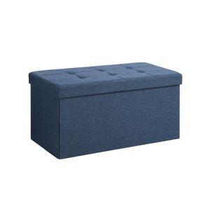 Cassapanca Contenitore Blu Scuro