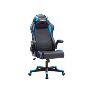 Sedia da Gaming Nero e Blu