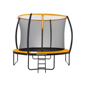 Trampolino da 305 cm (10 piedi) Nero e Arancione