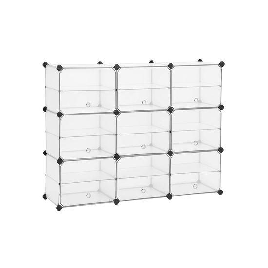 Portaoggetti a Cubi con Ante
