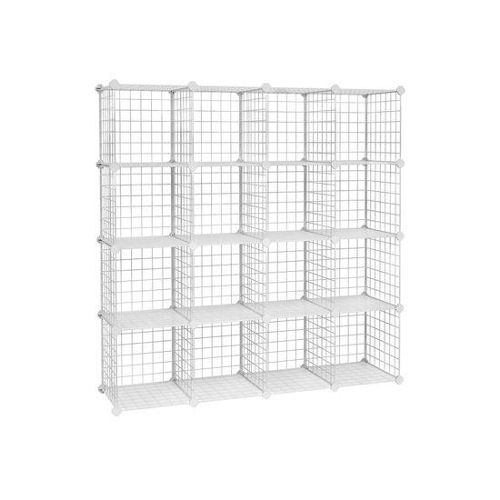 Organizzatore a 16 Cubi in Rete