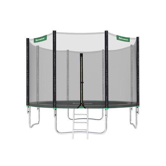 Trampolino da 366 cm per Giardino con Scaletta