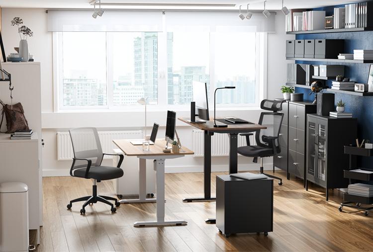 Uno spazio di lavoro che funziona per due